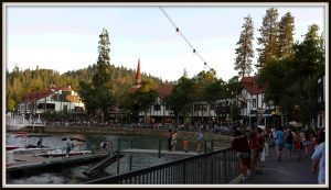 Just a Small Town Girl, Lake Arrowhead, CA.