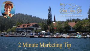 2 MinuteMarketing Tip for Facebook from Just a Small Town Girl